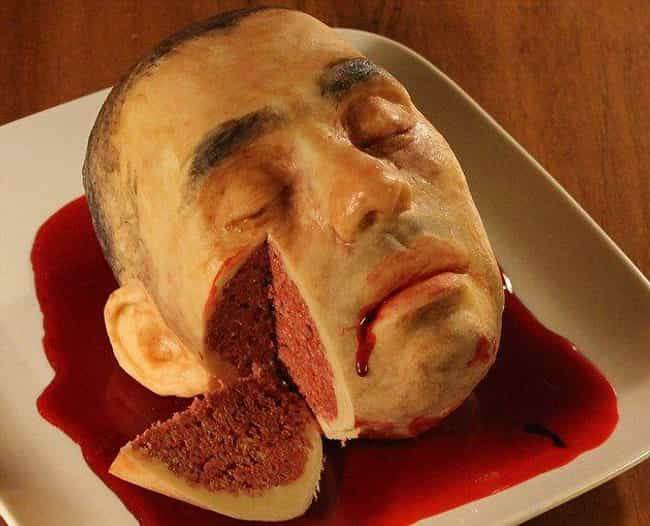 A Creepily Lifelike Cadaver Ca... is listed (or ranked) 1 on the list Incredibly Gross And Disgusting Halloween Snacks That Probably Crossed The Line