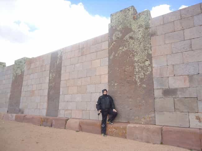 """Ancient Astronaut Theorists Th... is listed (or ranked) 4 on the list This """"Gate of the Sun"""" Monolithic Stone Monument Has Baffled Experts For Centuries"""