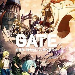 GATE is listed (or ranked) 6 on the list The 25+ Best Anime About Politics and Government