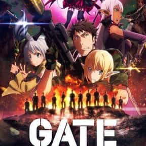 GATE (2016) is listed (or ranked) 12 on the list The 25+ Best Anime About Politics and Government