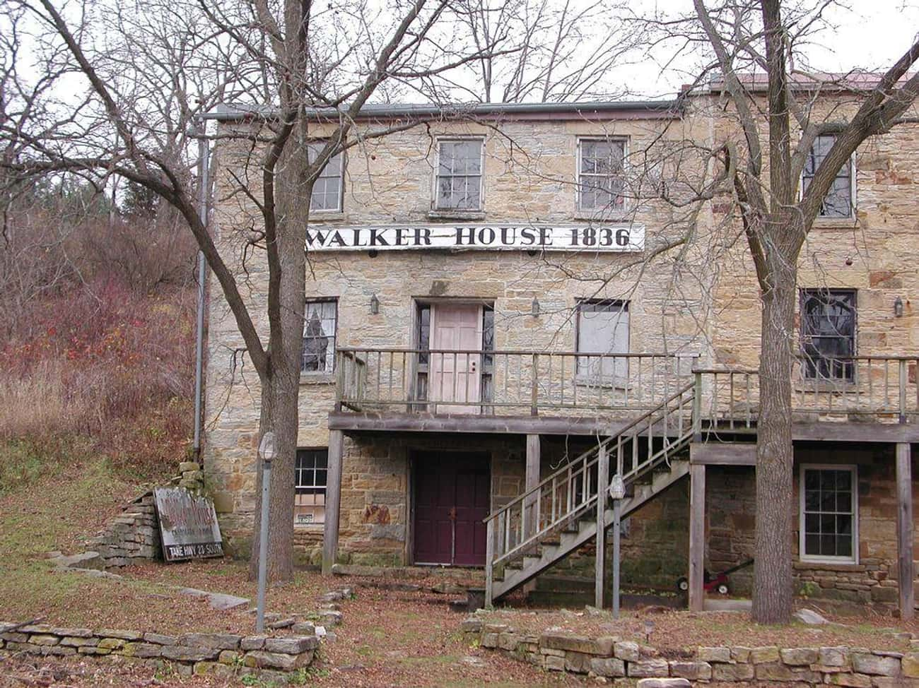 Mineral Point Is Also Known For The Haunted Walker House