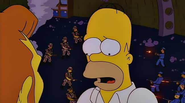 There Is A Definite Tona... is listed (or ranked) 3 on the list Homer Simpson Has Been In A Coma Since The '90s And The Evidence Speaks For Itself