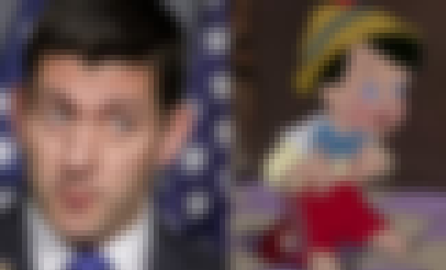 Paul Ryan And Pinocchio When H... is listed (or ranked) 4 on the list Political Figures Who Look Exactly Like Cartoon Characters