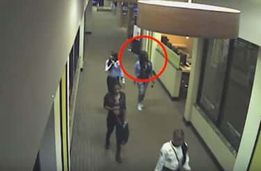 Surveillance Footage Shows Jenkins With Friends, Then She Reappears Alone Around Two Hours Later, Looking Intoxicated