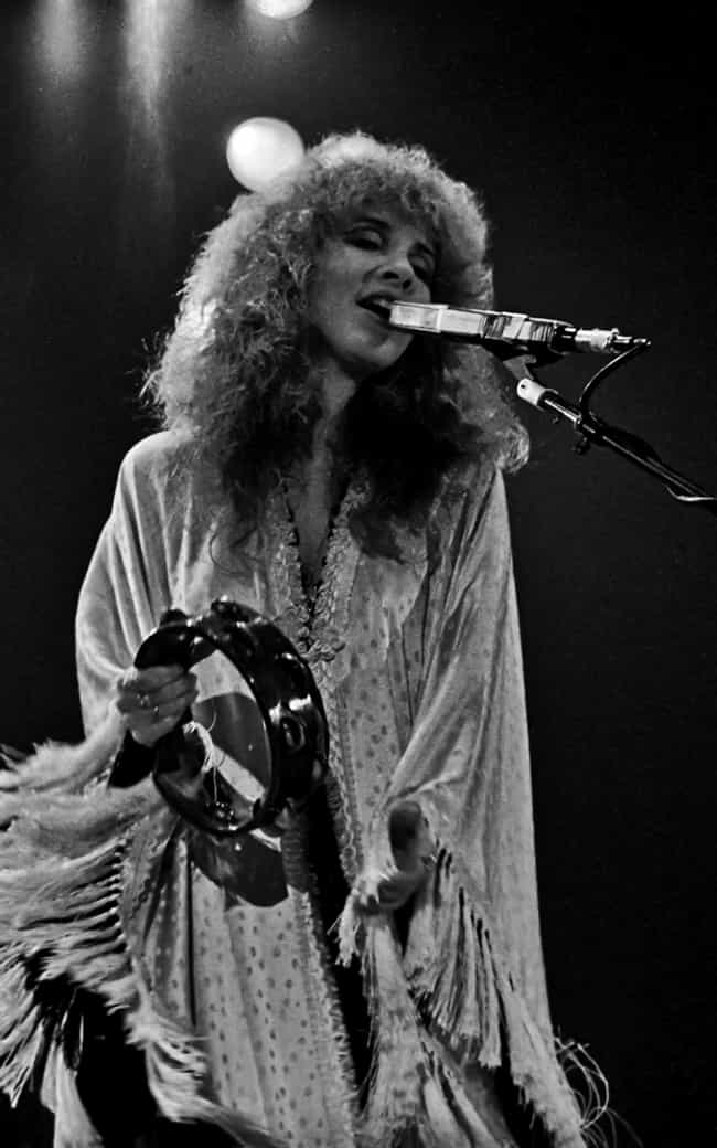 She Traveled With Her Own Cove... is listed (or ranked) 4 on the list 14 Behind-The-Scenes Stories From Stevie Nicks's Unique Life