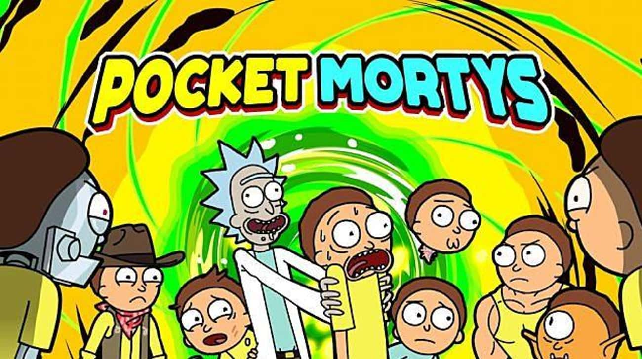 'Pocket Mortys' Sugges is listed (or ranked) 2 on the list This Morty Isn't Rick's Original Morty, And We Have The Evidence To Prove It