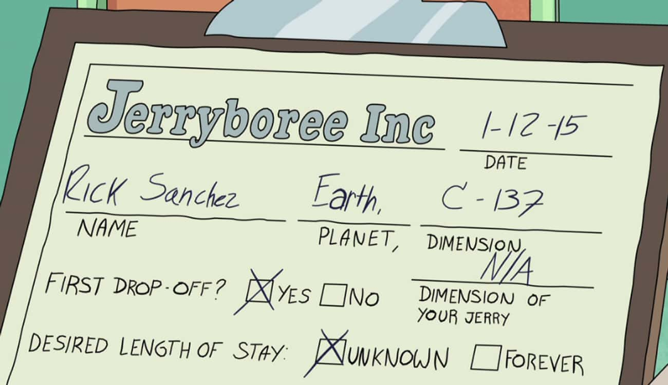 Our Rick Is From Dimension C-1 is listed (or ranked) 1 on the list This Morty Isn't Rick's Original Morty, And We Have The Evidence To Prove It