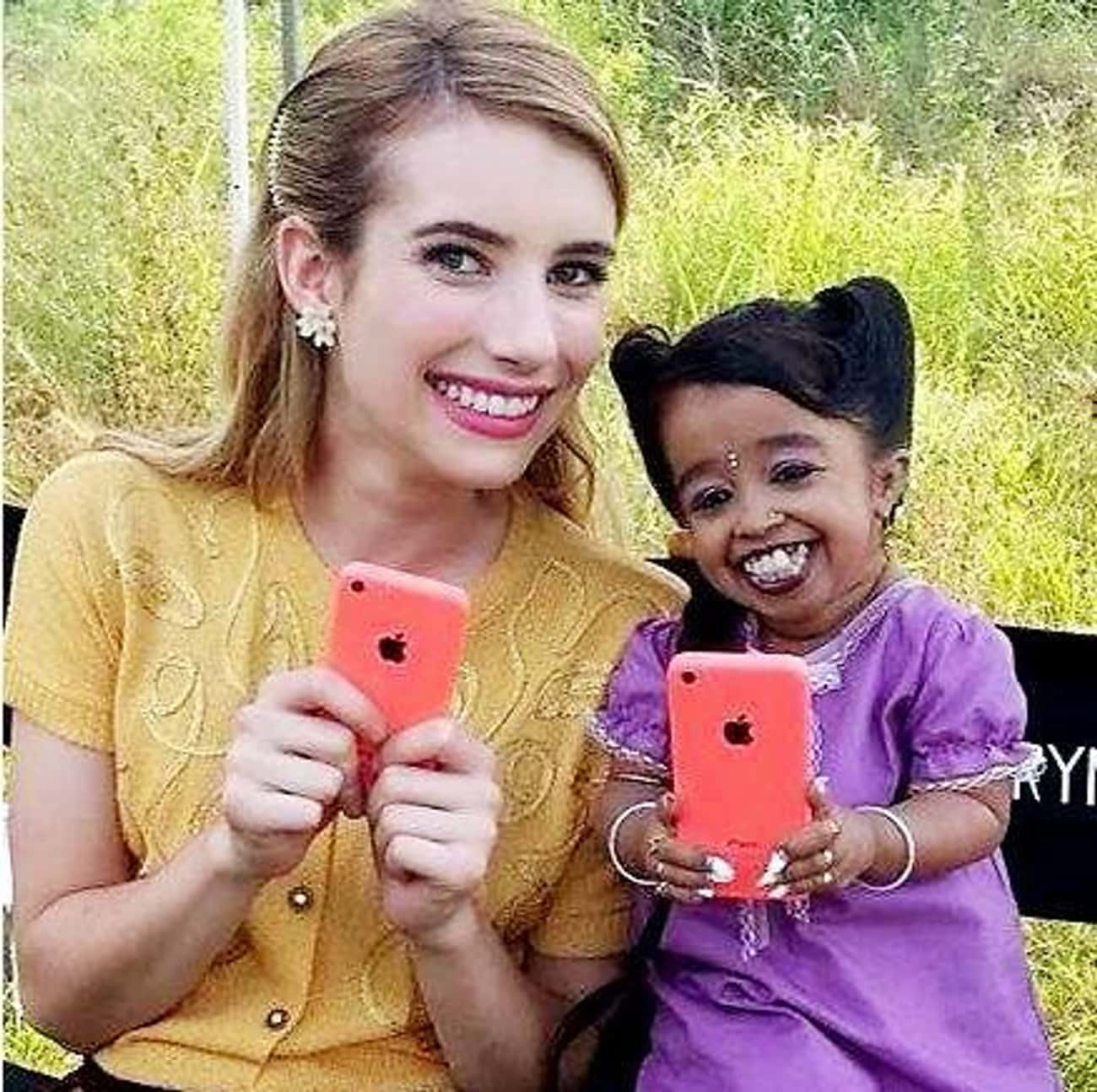 Selfies With Friends is listed (or ranked) 2 on the list Behind The Scenes Photos From American Horror Story You've Probably Never Seen Before