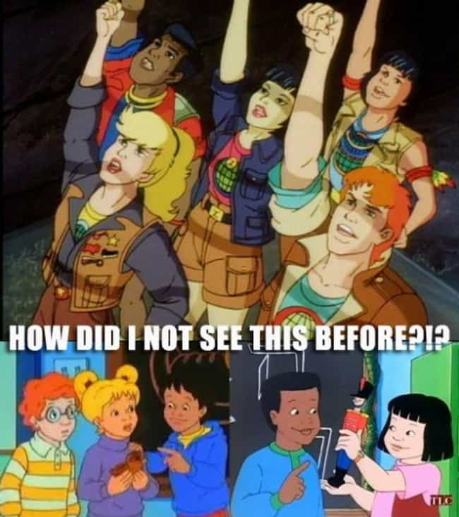 The Kids Grew Up To Become Cap... is listed (or ranked) 1 on the list 15 Magic School Bus Fan Theories That Will Make You Question Your Entire Childhood