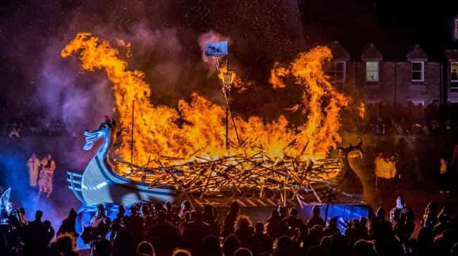 Seriously, Burn The Longship B... is listed (or ranked) 2 on the list A Look Inside Scotland's Massive Viking Festival That Happens Every Year
