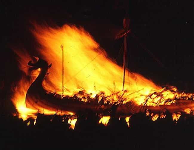 Ye Must Burn The Longship Befo... is listed (or ranked) 1 on the list A Look Inside Scotland's Massive Viking Festival That Happens Every Year