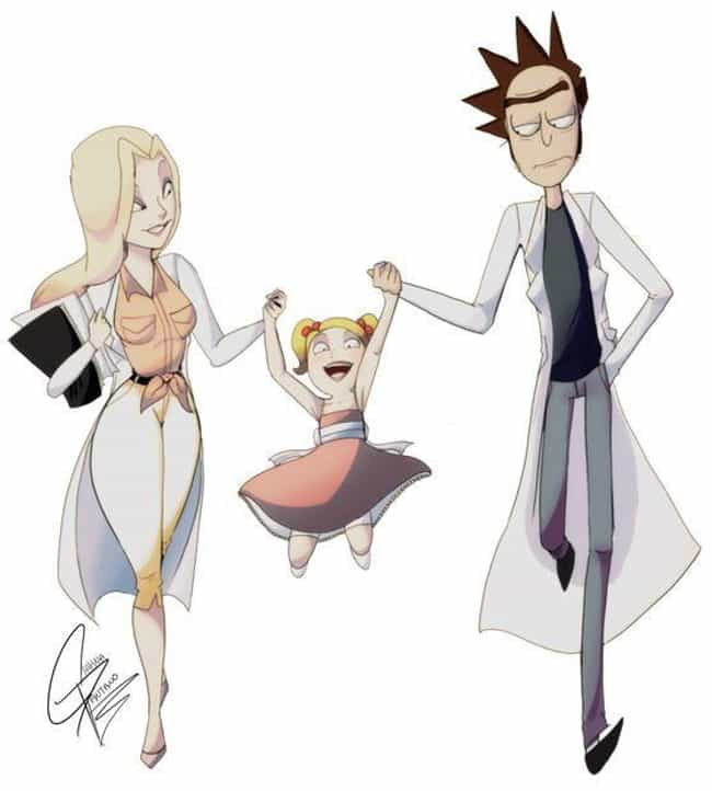 Rick Is Growing Weary Of... is listed (or ranked) 4 on the list Fan Art Of Rick Sanchez And His Wife Guaranteed To Break Your Heart