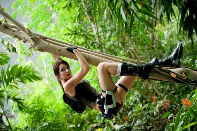 A Lara Who Can Hang with... is listed (or ranked) 4 on the list Spectacular Tomb Raider Cosplays That Do Lara Croft Justice