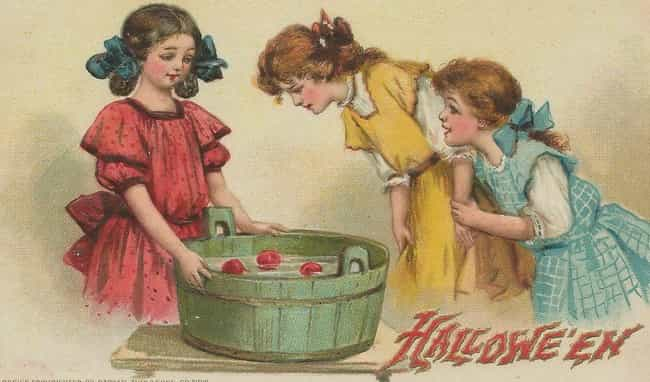 Apple Bobbing And Other ... is listed (or ranked) 8 on the list The Right Way To Celebrate An Authentic Pagan Halloween