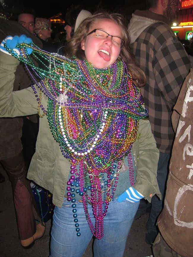 Beads-For-Skin As We Kno... is listed (or ranked) 4 on the list When Exactly Did The 'Beads For Boobs' Tradition Start In New Orleans?