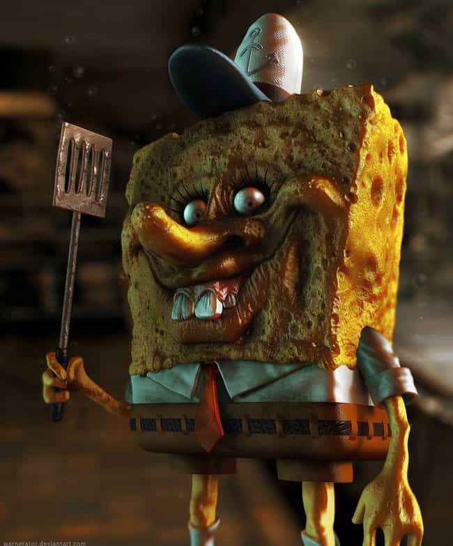 Spongebob: Order Up! is listed (or ranked) 2 on the list 18 Pieces Of Spongebob Fan Art That Took Things WAY Too Far