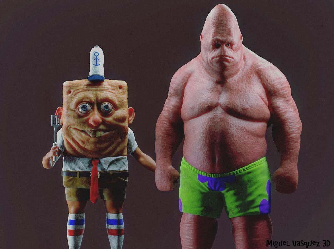 Spongebob In The Flesh: Terror Has A New Face
