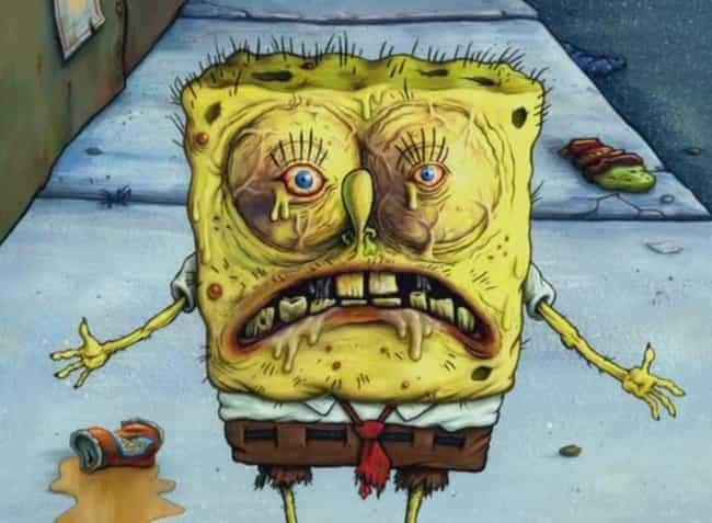 18 Creepy Spongebob Fan Art Creations That Went Too Far