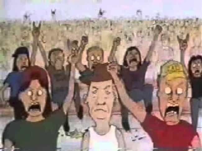 """Peace, Love, And Understa... is listed (or ranked) 4 on the list Beavis And Butt-Head Fan Theories That Will Completely Change How You Remember MTV In The '90s"