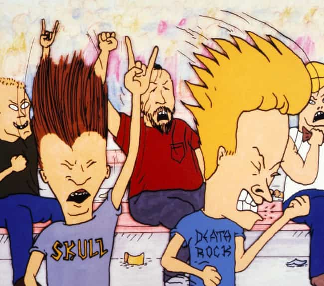 """""""Peace, Love, And U... is listed (or ranked) 4 on the list Beavis And Butt-Head Fan Theories That Will Completely Change How You Remember MTV In The '90s"""