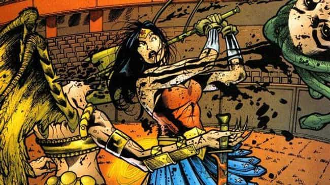 Eyes Of The Gorgon is listed (or ranked) 3 on the list The Best Wonder Woman Storylines in Comics
