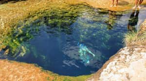 The Depths Of Jacob's Well is listed (or ranked) 2 on the list These Are The Creepiest Natural Wonders You Can Actually Visit