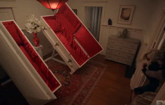 The Worst Decor Choices ... is listed (or ranked) 2 on the list If These Photos Freak You Out You May Have Feretrophobia, A Fear Of Coffins