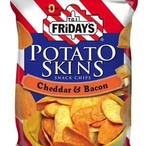 TGI Friday's Cheddar & Bacon Potato Skins Snack Chips