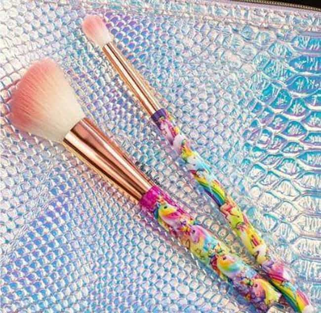 Glamour Dolls' Lisa Frank ... is listed (or ranked) 3 on the list 18 Adorable Makeup Products That Will Make You Insanely Nostalgic