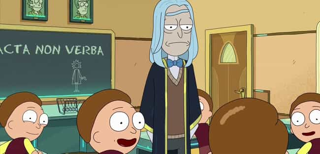 The Morty Academy Is A P... is listed (or ranked) 1 on the list Rick And Morty Just Proved Exactly How Much Public Education Is Failing American Children