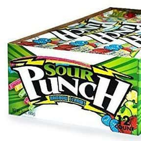 Sour Punch Straws is listed (or ranked) 1 on the list The Most Delicious Sour Candy