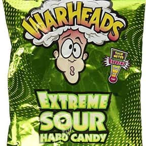 Warheads Extreme Sour Hard Can is listed (or ranked) 4 on the list The Most Delicious Sour Candy
