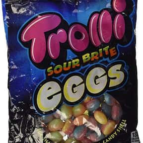 Trolli Sour Brite Eggs is listed (or ranked) 23 on the list The Most Delicious Sour Candy
