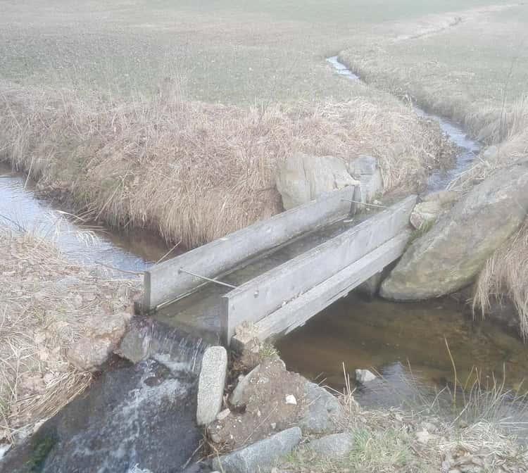 A Bridge Built For A River To Cross A River