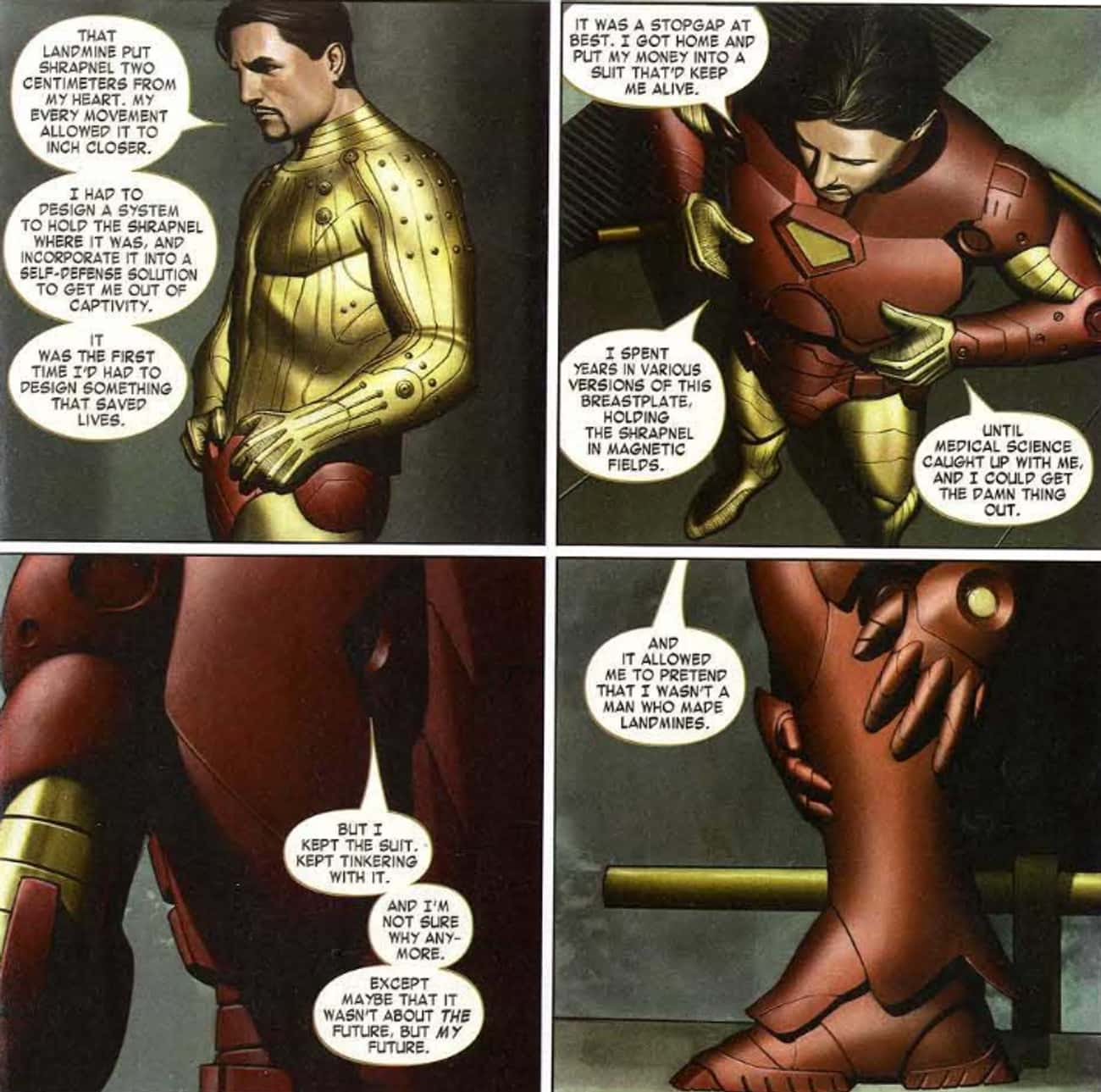 Extremis is listed (or ranked) 2 on the list The Best Iron Man Storylines in Comics