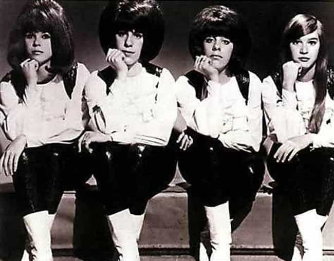 Their Tough-Girl Image W... is listed (or ranked) 1 on the list Wild Stories About The Shangri-Las, The High School Girls Who Inspired Punk