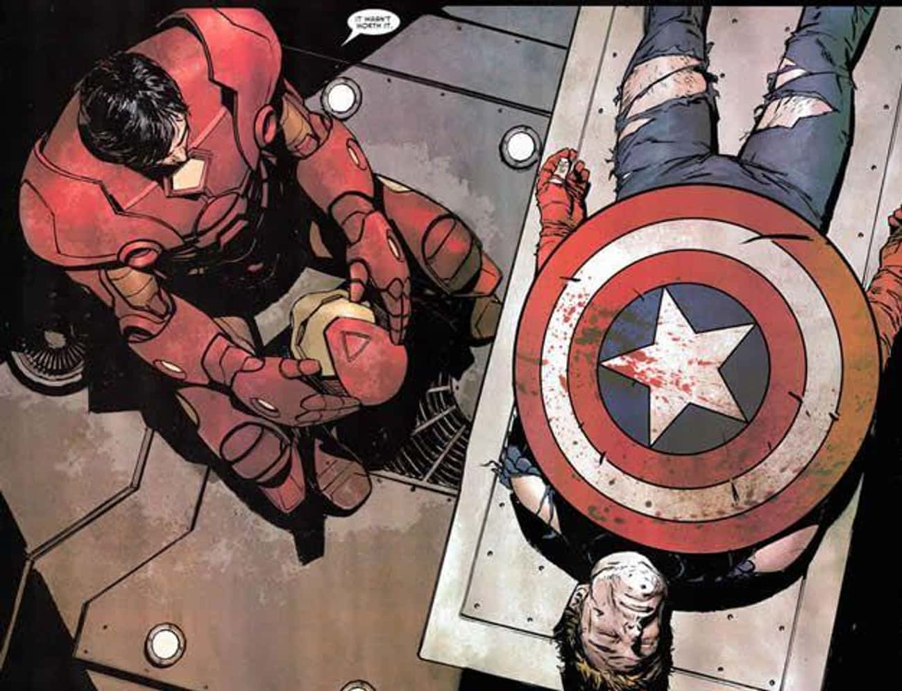 The Confession is listed (or ranked) 1 on the list The Best Iron Man Storylines in Comics