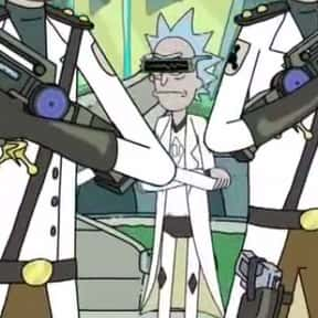 Visor Rick is listed (or ranked) 24 on the list Every Rick From Rick & Morty, Ranked By Sheer Rickishness