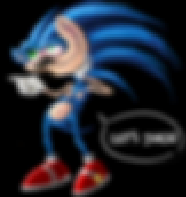 This Freaky Sonic Has Clearly ... is listed (or ranked) 3 on the list Unspeakably Weird Sonic Fan Art That Will Make You Question Everything