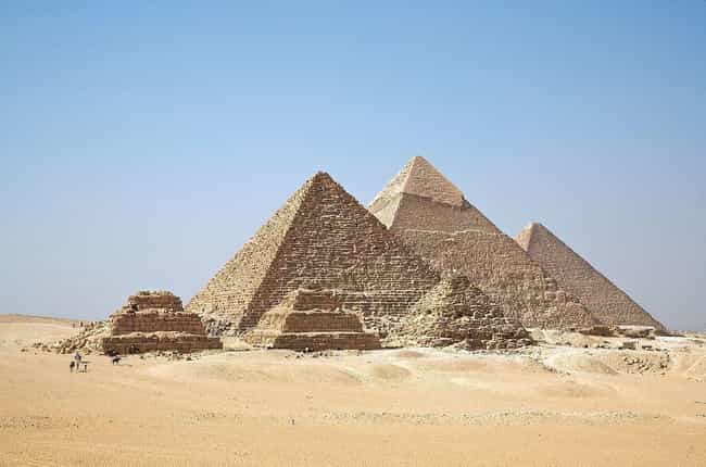 Researchers Discovered The Onl... is listed (or ranked) 1 on the list Scientists Finally Discover Ancient Blueprints Showing How The Pyramids Were Built