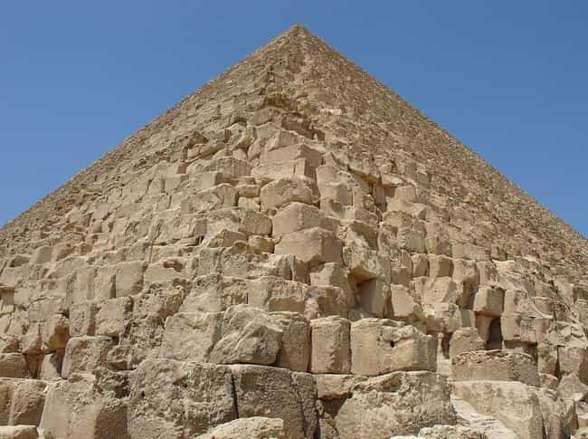 The Pyramid's Stone Bloc... is listed (or ranked) 3 on the list Scientists Finally Discover Ancient Blueprints Showing How The Pyramids Were Built