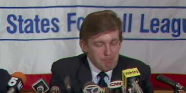 The Beginnings For The USFL Lo... is listed (or ranked) 1 on the list Reminder: Donald Trump Tried To Destroy The NFL 30 Years Ago—And Failed