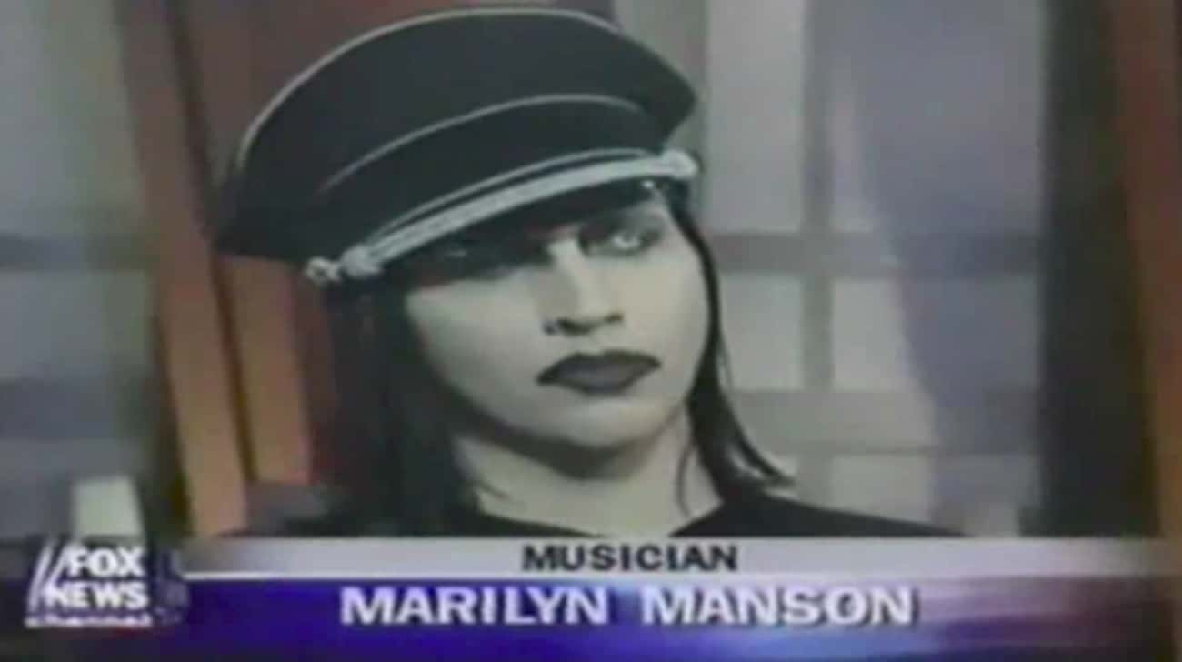 Manson Was Blasted By Bill O&# is listed (or ranked) 3 on the list How Parents And The Media Wrongfully Blamed Marilyn Manson For The Columbine Shooting