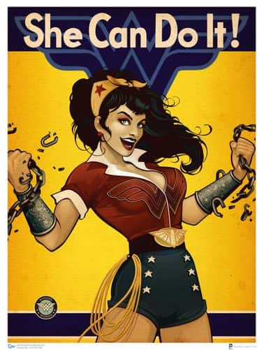 Ant Lucia's Bombshell Wonder W is listed (or ranked) 6 on the list Wonder Woman's Costumes From The Comics, Ranked By Practicality