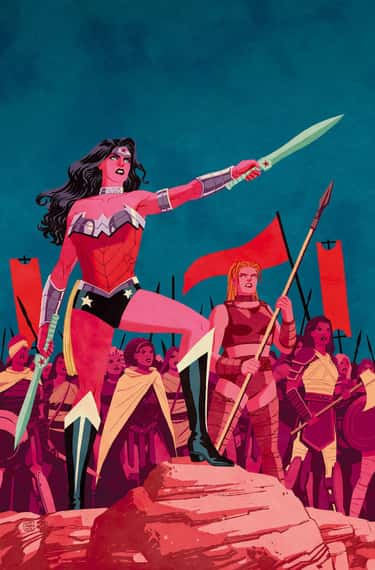Cliff Chiang's Muted Take  is listed (or ranked) 5 on the list Wonder Woman's Costumes From The Comics, Ranked By Practicality