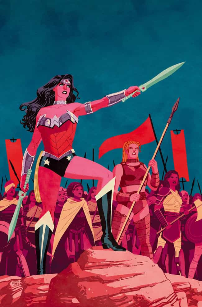 Cliff Chiang's Muted Take ... is listed (or ranked) 4 on the list Wonder Woman's Costumes From The Comics, Ranked By Practicality