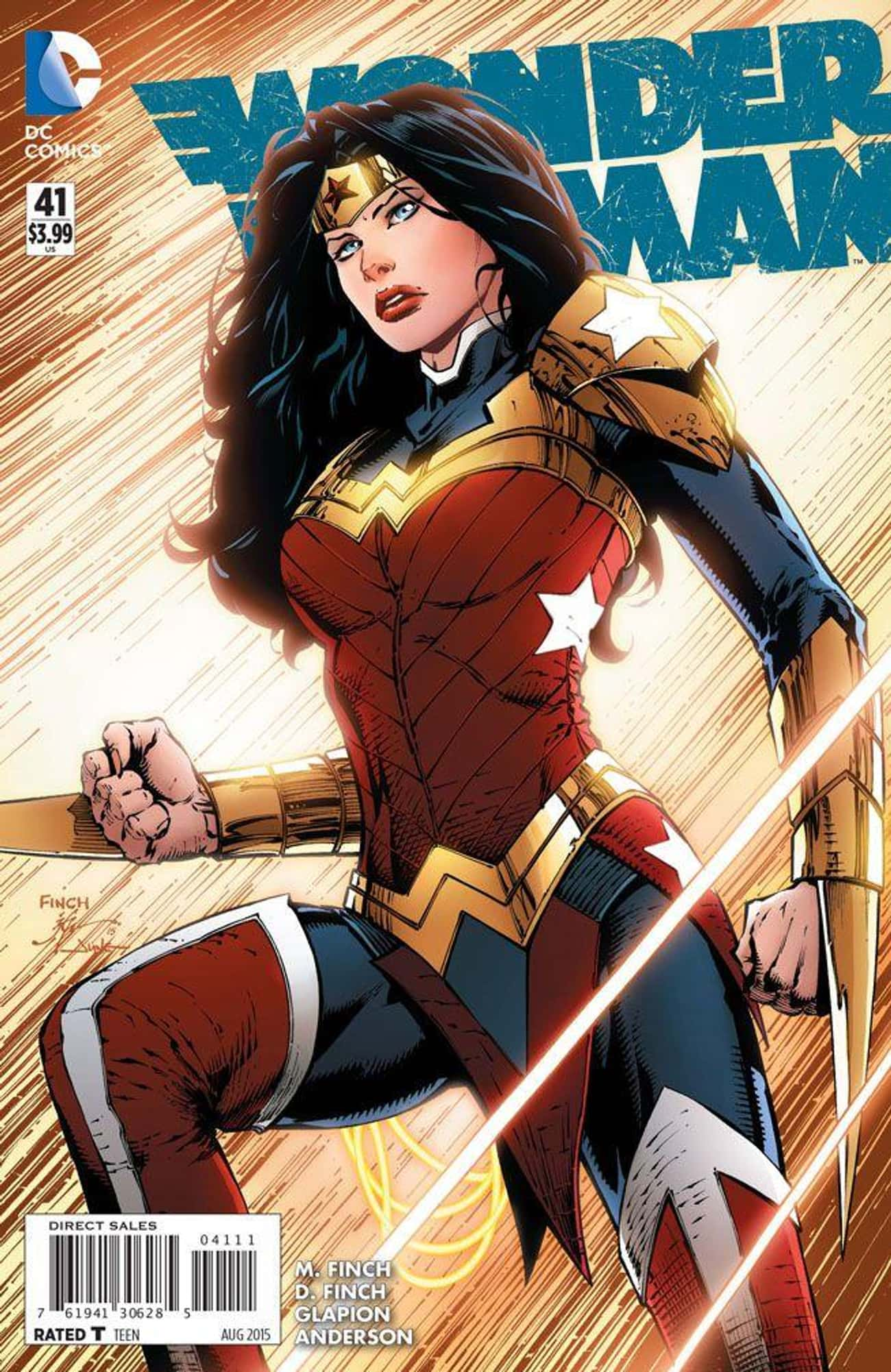 David Finch And Jim Lee's  is listed (or ranked) 1 on the list Wonder Woman's Costumes From The Comics, Ranked By Practicality