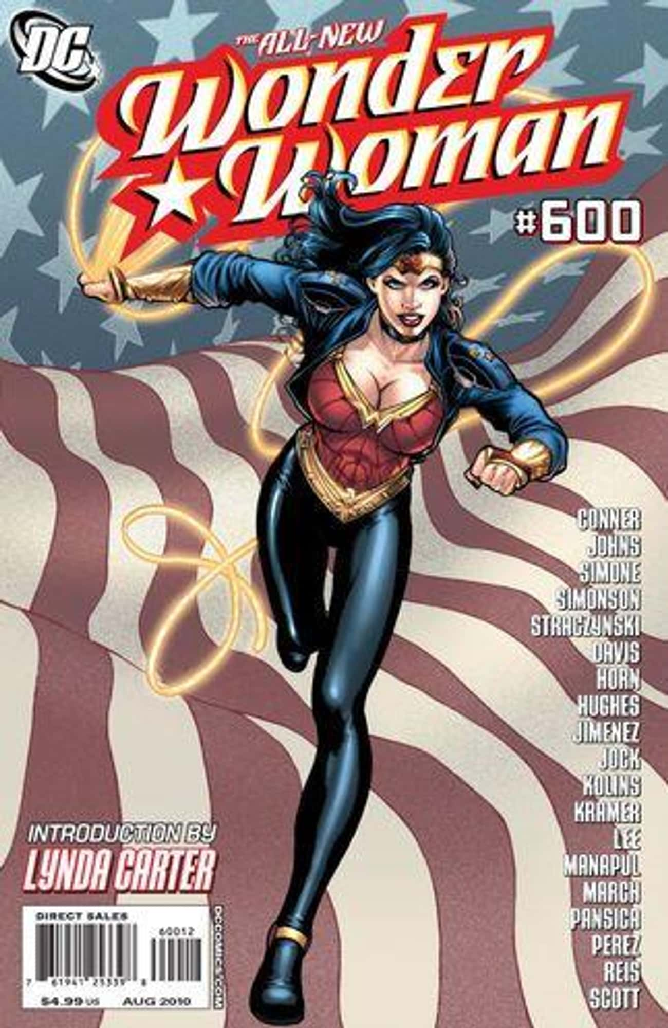 Those Jim Lee And Adam Hughes  is listed (or ranked) 3 on the list Wonder Woman's Costumes From The Comics, Ranked By Practicality