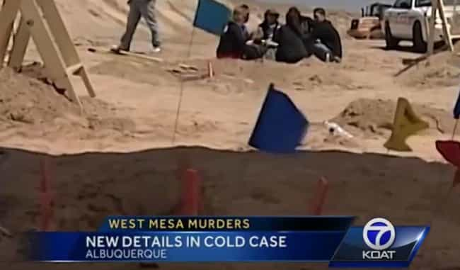 One Suspect, Lorenzo Montoya, ... is listed (or ranked) 2 on the list The Unsolved Mystery Of The West Mesa Bone Collector Is As Chilling As It Is Confusing