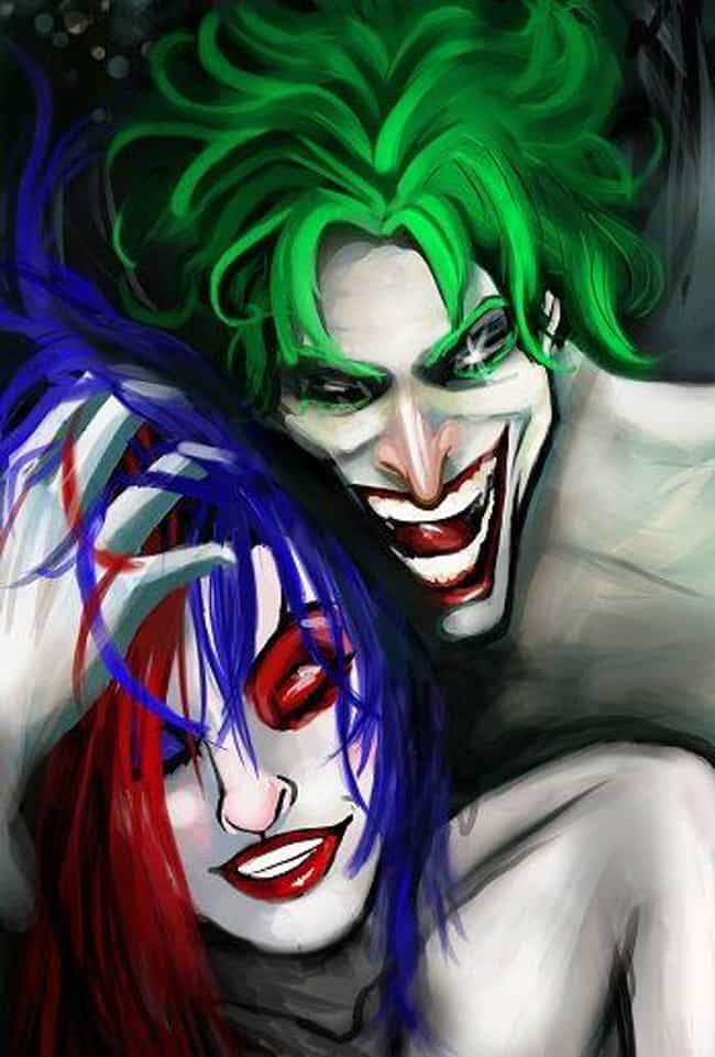 That's One Sexy Nightmare is listed (or ranked) 3 on the list 20 Amazing Pieces Of Joker And Harley Quinn Fan Art That Will Awaken Your Inner Sex Clown